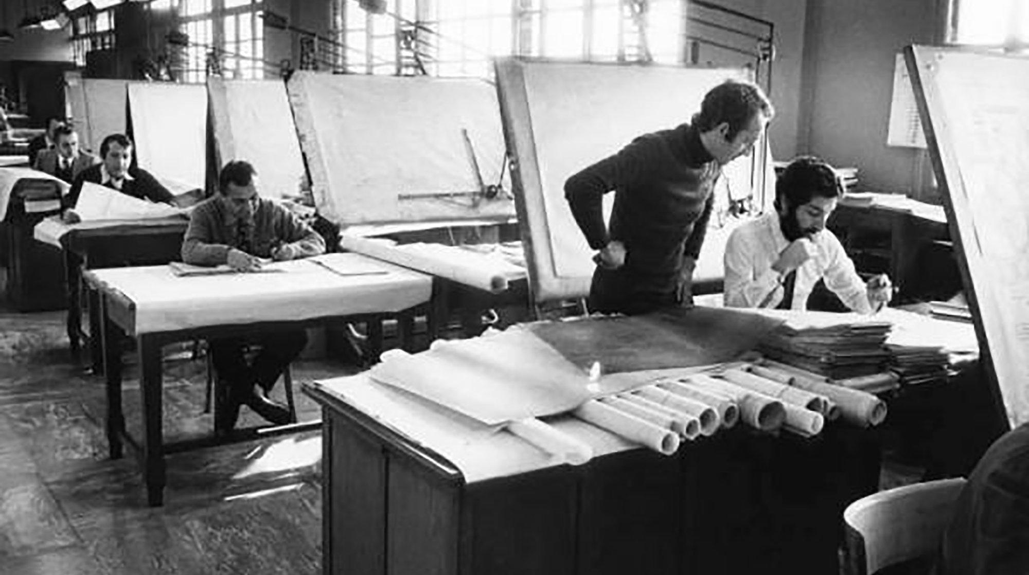 Ufficio Progetti Architetti Associati : Giulio fenyves arco associati studio di architettura a milano